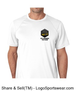 New Balance Mens Tempo Performance T-Shirt Design Zoom